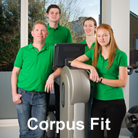 corpus fit logo up